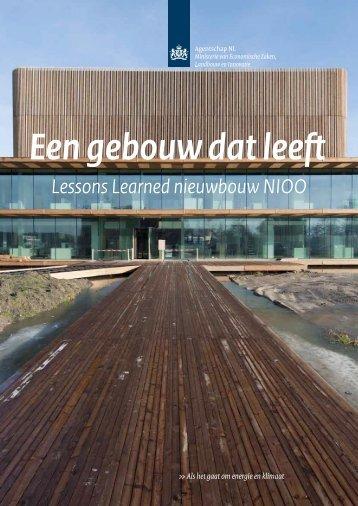 Een gebouw dat leeft - NIOO-KNAW