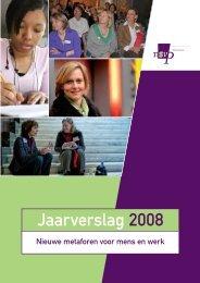Jaarverslag 2008 - Innovatief in Werk
