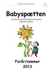 Babyspaetten-foraar-2013.pdf - Rødovre Kommune