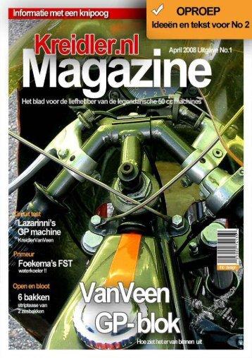 Rijk - De grote Tekentovenaar - Kreidlerclublid april 2008