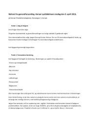 Referat fra generalforsamling, Korsør Lystbådehavn onsdag den 3 ...