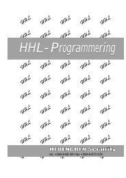 HHL-Programmering