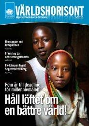 Fem år till deadline för millenniemålen - Svenska FN-förbundet