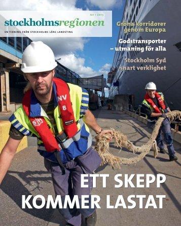 Godstransporter - SLL Tillväxt, miljö och regionplanering (TMR ...