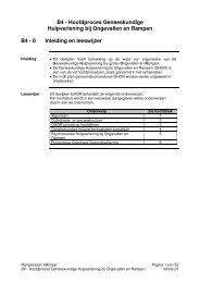 B4 - Hoofdproces Geneeskundige Hulpverlening bij Ongevallen en ...