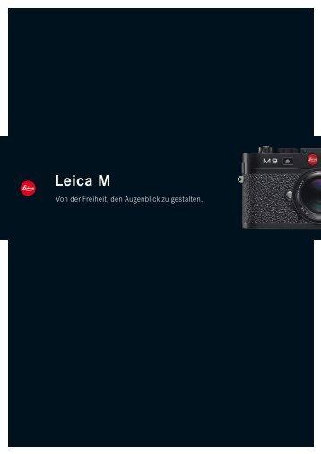 M9 Broschüre - Leica Camera AG