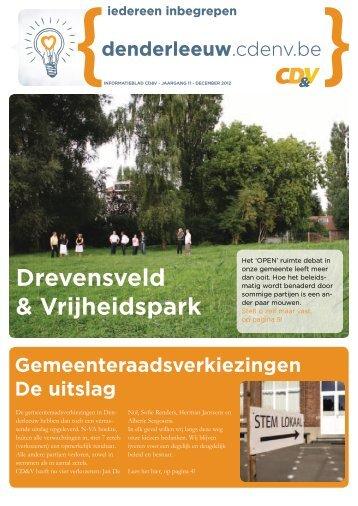 Drevensveld & Vrijheidspark - CD&V Denderleeuw