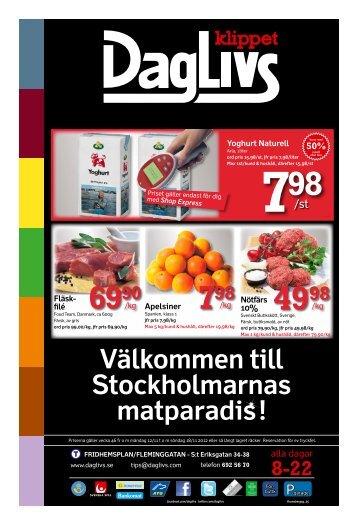 Välkommen till Stockholmarnas matparadis! - Daglivs