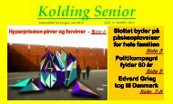 Uge 13 - Kolding Senior