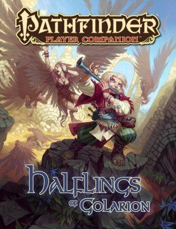 Player Companion: Halflings of Golarion