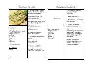 Champignon Florentine Champignon, flødestuvede - behold our ...