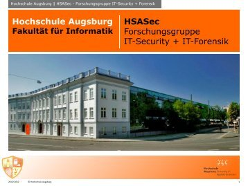 Download our About us Brochure - HSASec