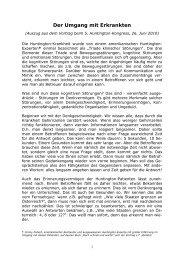 Download - Österreichische Huntington-Hilfe Austrian Huntington ...