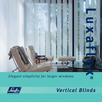 Vertical Blinds - Luxaflex