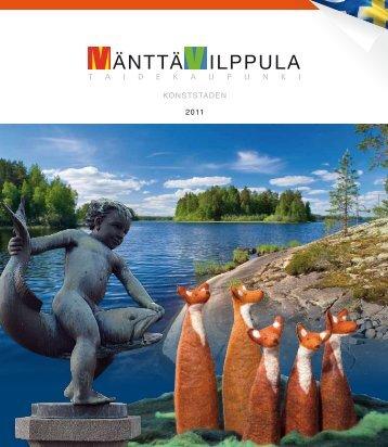Mänttä-Vilppula matkailu - Taidekaupunki