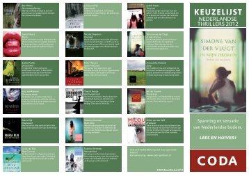 Nederlandse thrillers 2012 - Coda