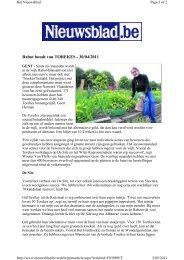 Rabot houdt van TOREKES - 30/04/2011 - Samenlevingsopbouw Gent