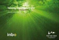 Verslag Tweede Werktafel, oktober 2010 - Inbo