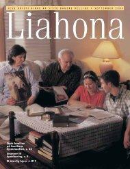 September 2004 Liahona