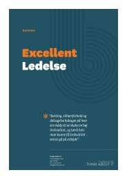 Excellent Ledelse - Think About It