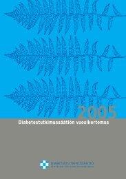 Diabetestutkimussäätiön vuosikertomus 2005 (pdf) (401.7 KB)