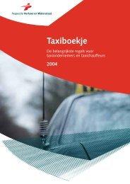 taxi boekje - Taxi Poll