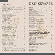 Download vores drikke kort i PDF Format - Herlev - Cafe Emil