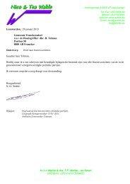 03 Rv-1-bijlage-0 brief 130130 Wahle - bouw Franeker Zuid
