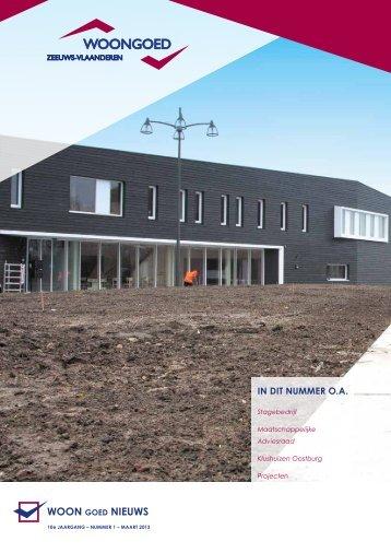 Woongoednieuws 1 - 2013 - Woongoed Zeeuws-Vlaanderen
