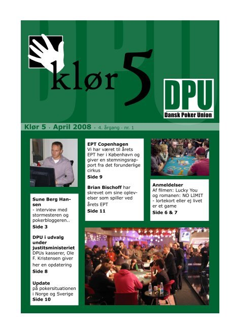 Klør - Dansk Poker Union