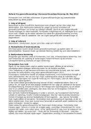 Referat fra generalforsamling i Hornsved Grundejerforening 26. Maj ...