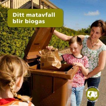 Ditt matavfall blir biogas - Kungsbacka kommun
