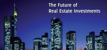 The Future of Real Estate Investments