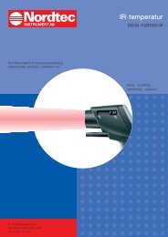 IR-temperatur - Nordtec Instrument AB