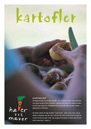 KARTOFLER På Krogerup findes der 10 typer kartofler . De er runde ...