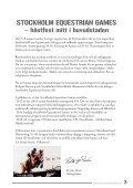fyra dagars hästfest i huvudstaden! - Stockholm Equestrian Games - Page 3
