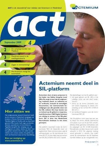 Act 2009-09 - Actemium
