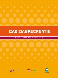 Download de cao Dagrecreatie - Recron