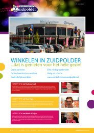 2e editie 2011 in PDF - Winkelcentrum Zuidpolder