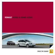 Brochurer til Scenic - Renault