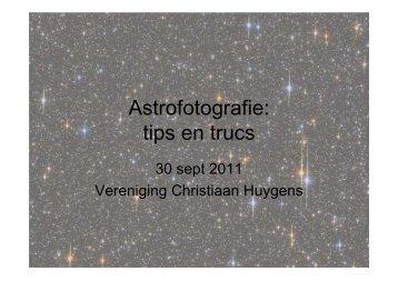 Astrofotografie: tips en trucs