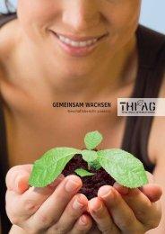 GEMEINSAM WACHSEN - Teak Holz International AG