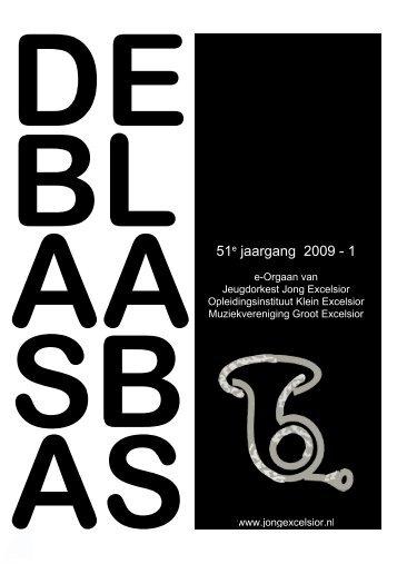 51e jaargang 2009 - 1 - Jeugdorkest Jong Excelsior