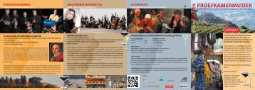 Download de brochure - Programma Muiden