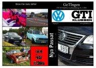 GeTingen Mk1 2005 - VW GTi Klubben
