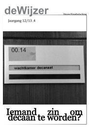 deWijzer 4 2013 - NFK
