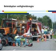 Beleidsplan veiligheidsregio - BrandweerKennisNet