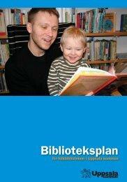 Biblioteksplan för Uppsala kommun