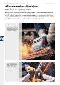 (Door)slijpen, afbramen, borstelen - Bosch elektrisch gereedschap - Page 2