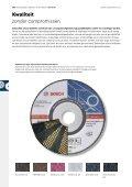 (Door)slijpen, afbramen, borstelen - Bosch elektrisch gereedschap - Page 4